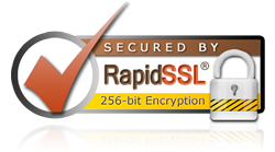 Website secured by GEO Trust Rapid SSL